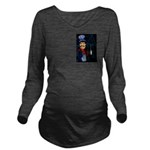 Vintage Engineers Long Sleeve Maternity T-Shirt