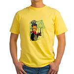 Vintage Engineers Yellow T-Shirt