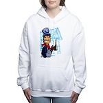 Vintage Engineers Women's Hooded Sweatshirt