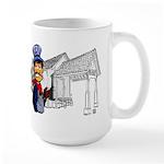 Vintage Engineers Large Mug