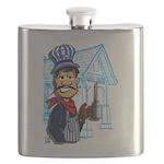 Vintage Engineers Flask