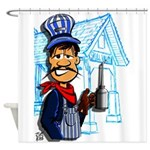 Vintage Engineers Shower Curtain