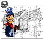 Vintage Engineers Puzzle