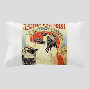 Vintage poster - Bitter Oriental Pillow Case