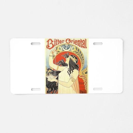 Vintage poster - Bitter Ori Aluminum License Plate