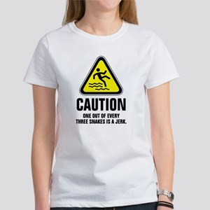 Caution one out of every three snakes is a T-Shirt