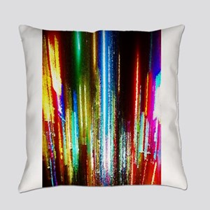 New York Lights Everyday Pillow