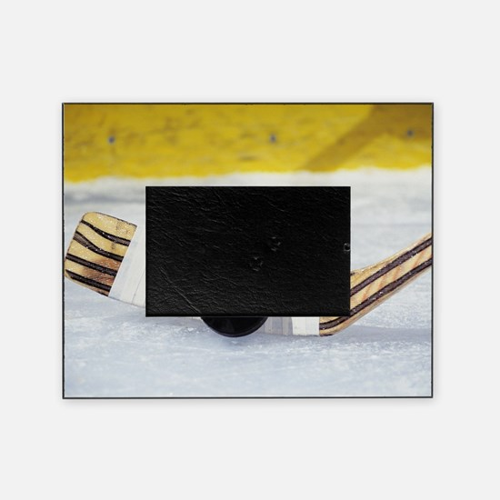 Funny Ice hockey Picture Frame