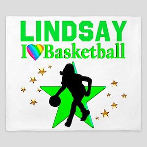 GO BASKETBALL King Duvet