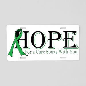 Hope Aluminum License Plate