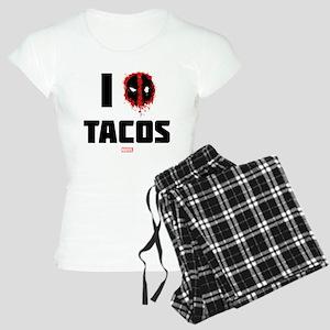 Deadpool Tacos Women's Light Pajamas