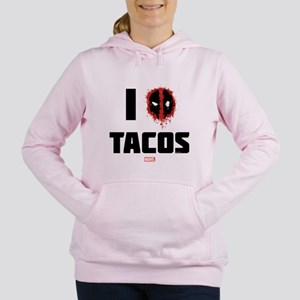Deadpool Tacos Women's Hooded Sweatshirt