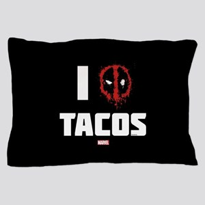 Deadpool Tacos Pillow Case