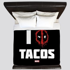 Deadpool Tacos King Duvet