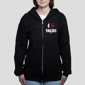 Deadpool Tacos Women's Zip Hoodie