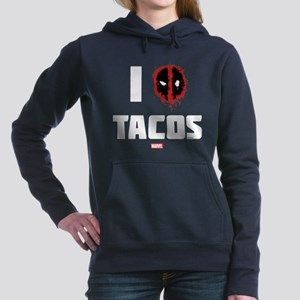 Deadpool Tacos Women's Hooded Sweatshirt
