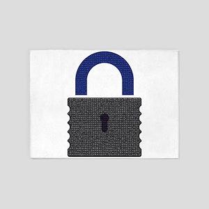 Mozaic Locker 5'x7'Area Rug