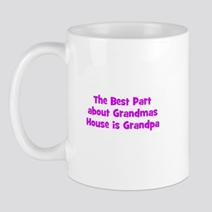 The Best Part about Grandmas  Mug