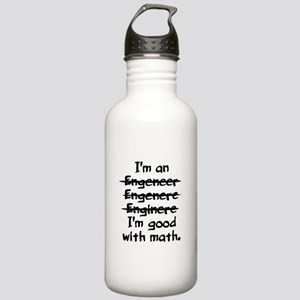 I'm an engineer funny Stainless Water Bottle 1.0L