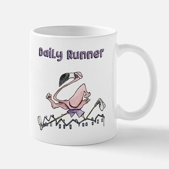 Flamingo Daily Runner Mugs