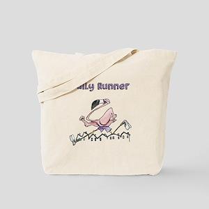 Flamingo Daily Runner Tote Bag