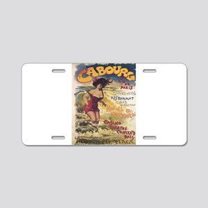 Vintage poster - Cabourg Aluminum License Plate