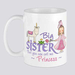 Unicorn Princess Big Sister Mug