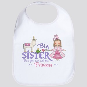 Unicorn Princess Big Sister Bib