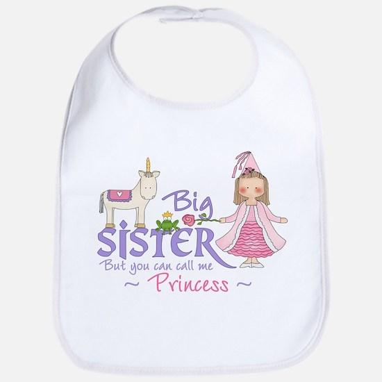 Unicorn Princess Big Sister Bib