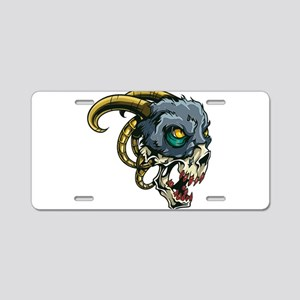 Monster Devil Ram Aluminum License Plate
