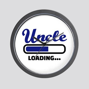 Uncle loading Wall Clock