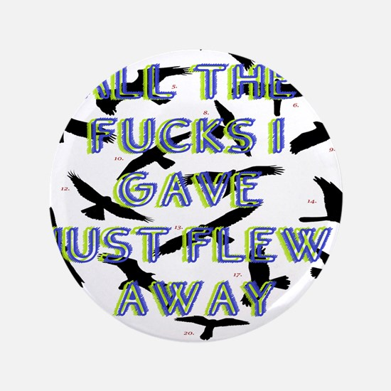 "no longer care 3.5"" Button (100 pack)"