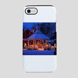 Sutton Gazebo at Christmas iPhone 8/7 Tough Case