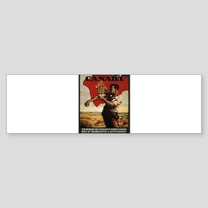 Vintage poster - Canada Bumper Sticker