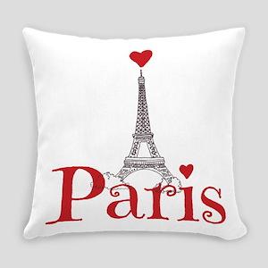 I love Paris Everyday Pillow