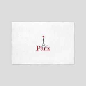 I love Paris 4' x 6' Rug