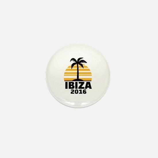 Ibiza 2016 Mini Button