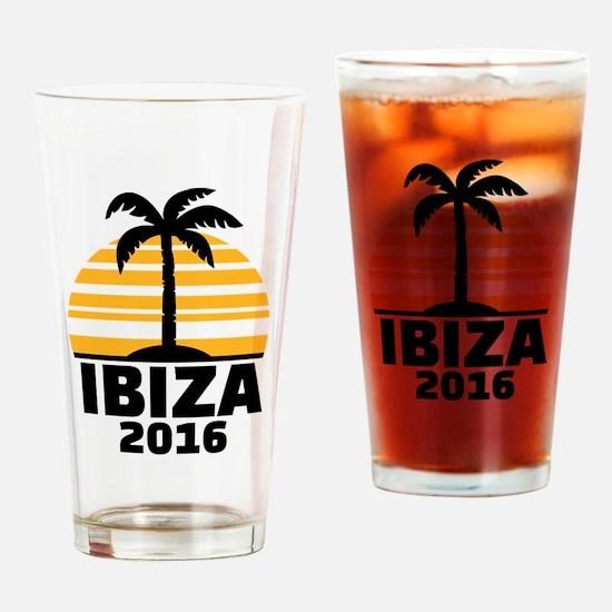 Ibiza 2016 Drinking Glass