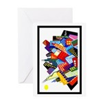 Chicago Wave Greeting Card
