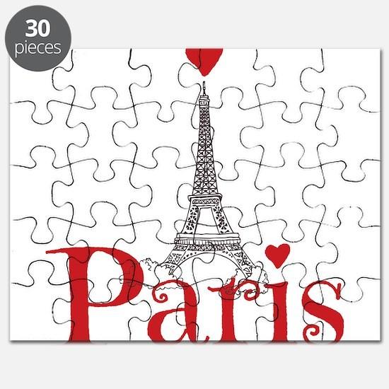 I love Paris Puzzle