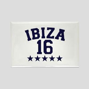 Ibiza 2016 Rectangle Magnet