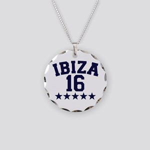 Ibiza 2016 Necklace Circle Charm