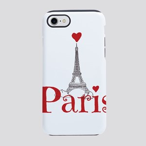 I love Paris iPhone 8/7 Tough Case