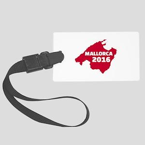 Mallorca 2016 Large Luggage Tag