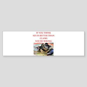 a funny food joke Bumper Sticker