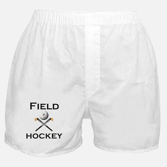 Funny Girls hockey Boxer Shorts