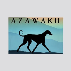 Blue Mountains Azawakh Rectangle Magnet