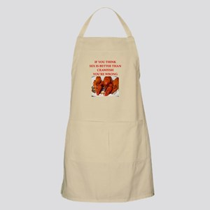 a funny food joke Apron