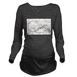 Revised ATS Logo Long Sleeve Maternity T-Shirt