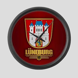 Luneburg Large Wall Clock